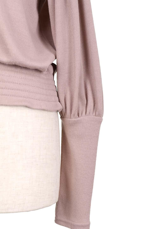 PuffSleeveSoftTopパフスリーブ・スムーストップス大人カジュアルに最適な海外ファッションのothers(その他インポートアイテム)のトップスやカットソー。長めの袖が可愛いパフスリーブのニットトップス。なめらかでソフトなニットを使用した着心地の良いアイテムです。/main-25