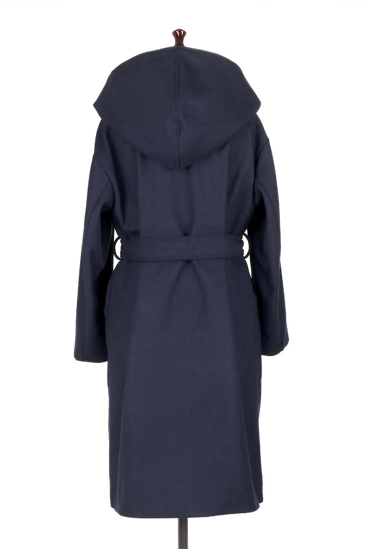MeltonGownHoodedCoatメルトン・ガウンコート大人カジュアルに最適な海外ファッションのothers(その他インポートアイテム)のアウターやコート。大きなフードが可愛いポイントのガウンコート。身幅に関係なく羽織れるのが人気のガウンコート。/main-14