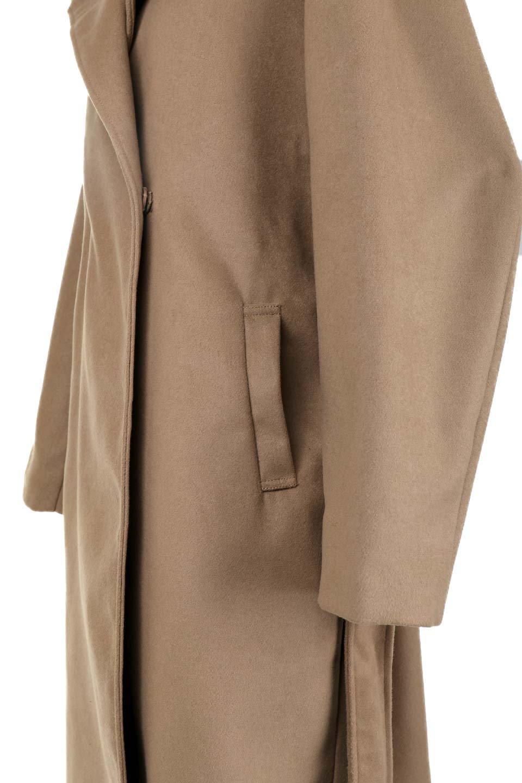 MeltonGownHoodedCoatメルトン・ガウンコート大人カジュアルに最適な海外ファッションのothers(その他インポートアイテム)のアウターやコート。大きなフードが可愛いポイントのガウンコート。身幅に関係なく羽織れるのが人気のガウンコート。/main-19