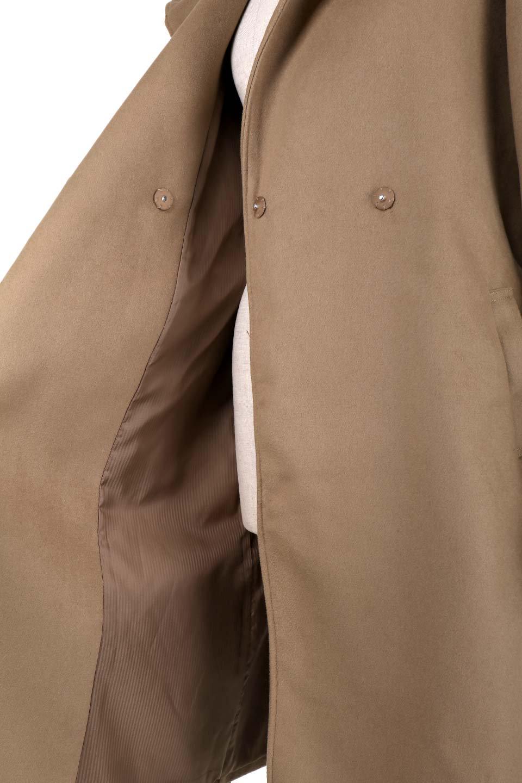 MeltonGownHoodedCoatメルトン・ガウンコート大人カジュアルに最適な海外ファッションのothers(その他インポートアイテム)のアウターやコート。大きなフードが可愛いポイントのガウンコート。身幅に関係なく羽織れるのが人気のガウンコート。/main-21
