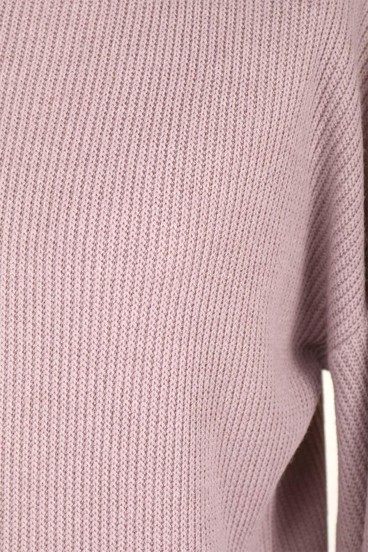 SmoothLiningKnitTopスムース裏地ニットソー大人カジュアルに最適な海外ファッションのothers(その他インポートアイテム)のトップスやニット・セーター。フワフワ裏地の肌触りがポイントのシンプルニットソー。袖が膨らんだビショップスリーブですが、袖口がやや長めでアウターも合わせやすいデザインです。/main-25