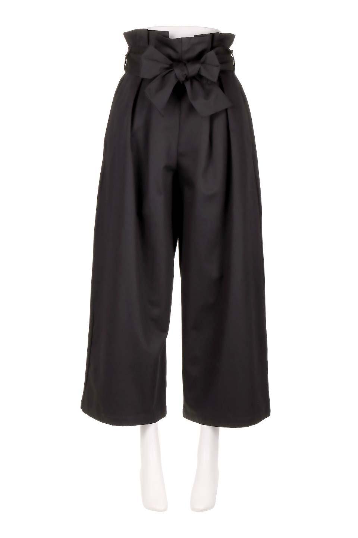 HighWaistRibbonWidePantsハイウエスト・リボンワイドパンツ大人カジュアルに最適な海外ファッションのothers(その他インポートアイテム)のボトムやパンツ。70'sテイストのコーデにピッタリなフレアパンツ。ピーチフェイス加工の優しい風合いなので、コテコテにならずイマ風にコーディネートが決まります。/main-10
