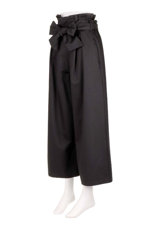 HighWaistRibbonWidePantsハイウエスト・リボンワイドパンツ大人カジュアルに最適な海外ファッションのothers(その他インポートアイテム)のボトムやパンツ。70'sテイストのコーデにピッタリなフレアパンツ。ピーチフェイス加工の優しい風合いなので、コテコテにならずイマ風にコーディネートが決まります。/main-11