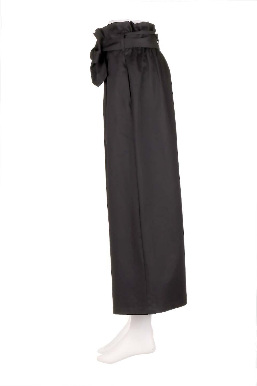 HighWaistRibbonWidePantsハイウエスト・リボンワイドパンツ大人カジュアルに最適な海外ファッションのothers(その他インポートアイテム)のボトムやパンツ。ご要望の多いハイウエストタイプのワイドパンツ。大人気の定番シルエットと太めのリボンベルトの春夏ボトム。/main-12