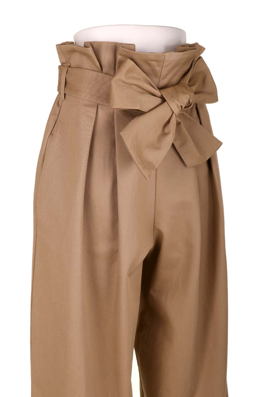HighWaistRibbonWidePantsハイウエスト・リボンワイドパンツ大人カジュアルに最適な海外ファッションのothers(その他インポートアイテム)のボトムやパンツ。ご要望の多いハイウエストタイプのワイドパンツ。大人気の定番シルエットと太めのリボンベルトの春夏ボトム。/main-15