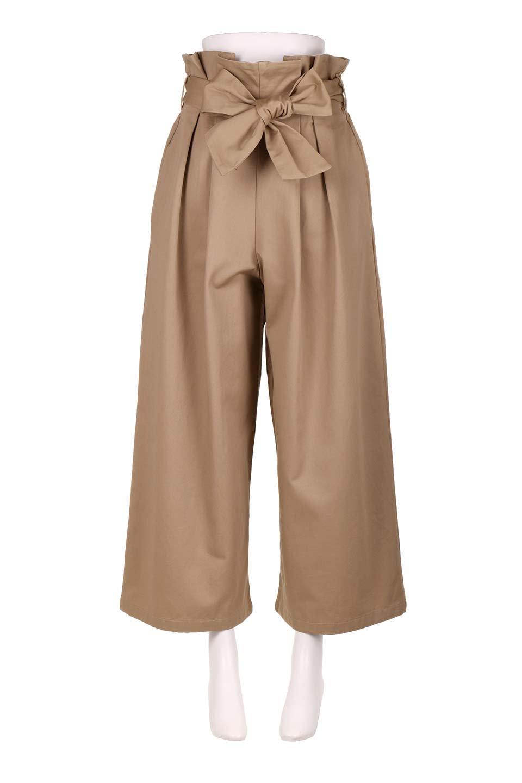 HighWaistRibbonWidePantsハイウエスト・リボンワイドパンツ大人カジュアルに最適な海外ファッションのothers(その他インポートアイテム)のボトムやパンツ。ご要望の多いハイウエストタイプのワイドパンツ。大人気の定番シルエットと太めのリボンベルトの春夏ボトム。/main-5