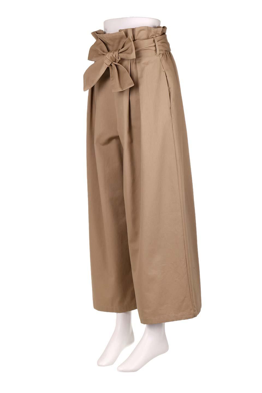 HighWaistRibbonWidePantsハイウエスト・リボンワイドパンツ大人カジュアルに最適な海外ファッションのothers(その他インポートアイテム)のボトムやパンツ。ご要望の多いハイウエストタイプのワイドパンツ。大人気の定番シルエットと太めのリボンベルトの春夏ボトム。/main-6