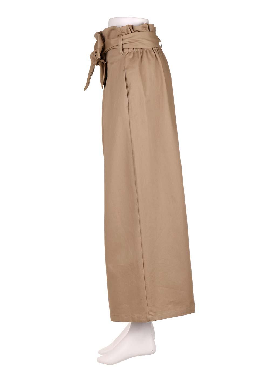 HighWaistRibbonWidePantsハイウエスト・リボンワイドパンツ大人カジュアルに最適な海外ファッションのothers(その他インポートアイテム)のボトムやパンツ。ご要望の多いハイウエストタイプのワイドパンツ。大人気の定番シルエットと太めのリボンベルトの春夏ボトム。/main-7