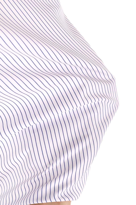 FlyingTomatoのRuchedSleevePin-StripedBlouseパフショルダー・ピンストライプブラウス/海外ファッション好きにオススメなFlyingTomato(フライングトマト)のトップスやシャツ・ブラウス。爽やかなピンストライプのブラウス。肩から袖口にかけてのディテールがとても可愛いブラウスです。/main-17