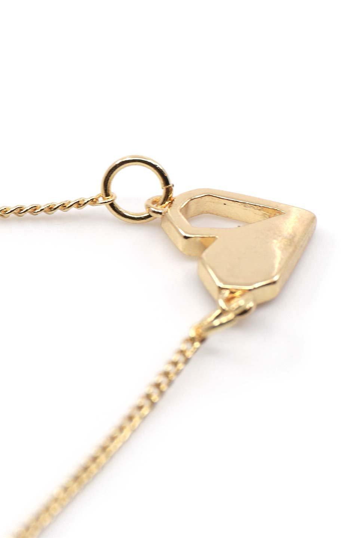 L.A.直輸入のAmeliaPixelHeartNecklaceハートチャーム・ネックレス大人カジュアルに最適な海外ファッションのothers(その他インポートアイテム)のアクセサリーやネックレス。ハートモチーフチャームの細身なネックレス。若干エッジのあるハートのモチーフがキラキラと輝くネックレスです。/main-3