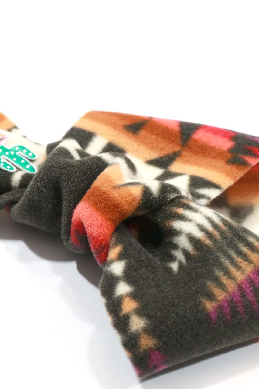 OrtegaPatternedDoggieMufflerオルテガ柄・フリースマフラー大人カジュアルに最適な海外ファッションのothers(その他インポートアイテム)のドッググッズや。アメリカンなオルテガ柄のフリースマフラー。カラフルで抜群の可愛さのワンちゃんアイテム。/main-21