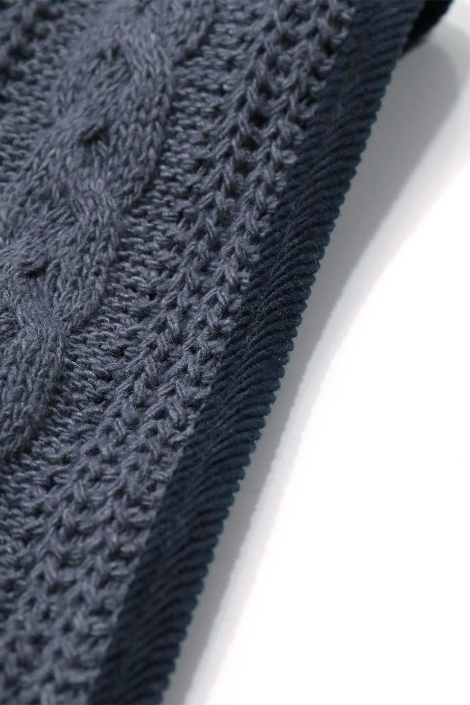 """CableKnitDoggieMufflerケーブルニット・ドギーマフラー大人カジュアルに最適な海外ファッションのothers(その他インポートアイテム)のドッググッズや。""""人""""用顔負けのケーブルニットのワンちゃんマフラー。ニットだけだと伸びてしまうのでパイピングと裏地はコーデュロイを使用。/main-30"""