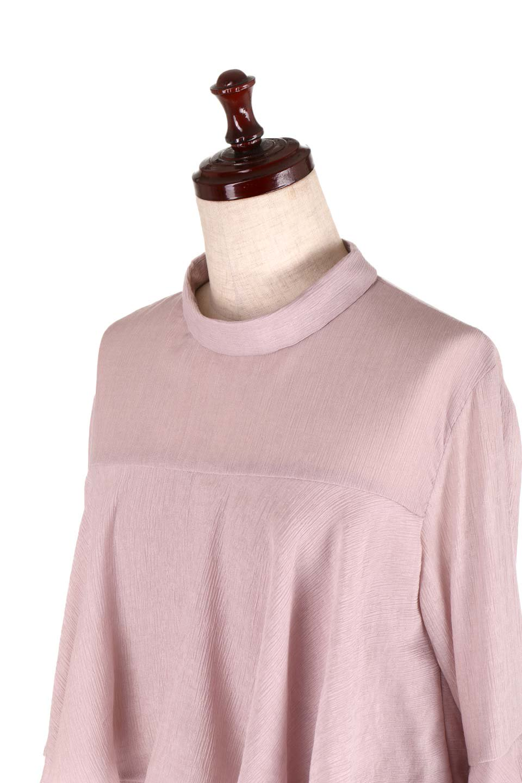 BellSleeveTieredBlouseベルスリーブ・ティアードブラウス大人カジュアルに最適な海外ファッションのothers(その他インポートアイテム)のトップスやシャツ・ブラウス。大きめに段を取ったフリルが特徴のブラウス。適度なショート丈で春っぽいコーディネートができます。/main-17