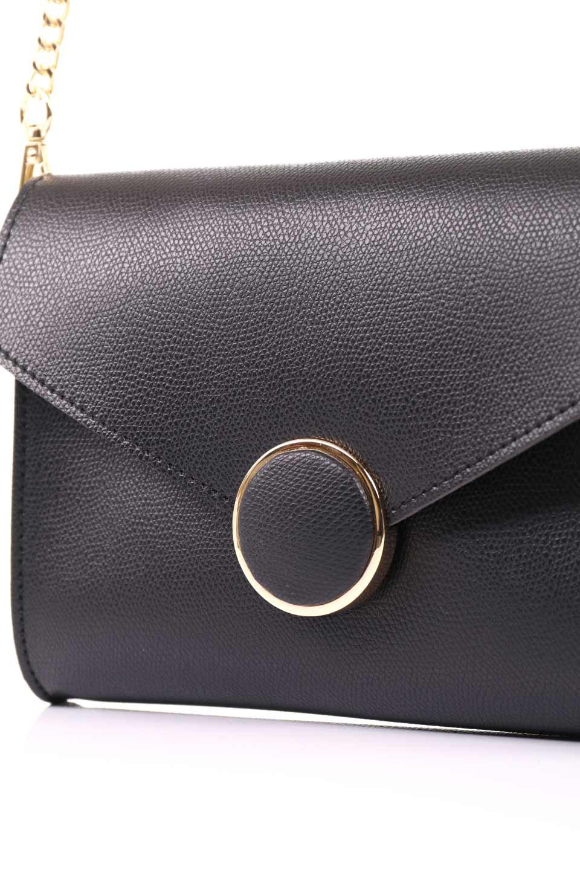 meliebiancoのElsa(Black)2WAYショルダーバッグ/海外ファッション好きにオススメのインポートバッグとかばん、MelieBianco(メリービアンコ)のバッグやショルダーバッグ。ストラップを取り外してクラッチバッグにもなる2WAYショルダーバッグ。スマホと流行のミニ財布でお出かけするときにピッタリなショルダーバッグです。/main-10