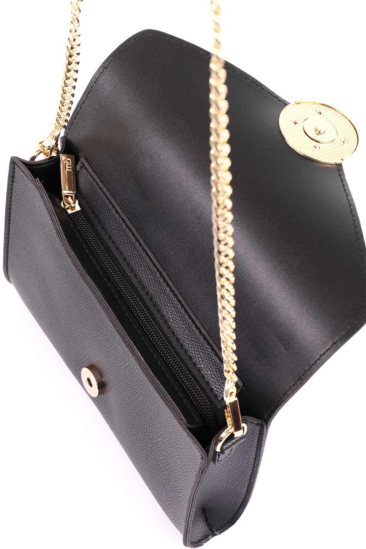 meliebiancoのElsa(Black)2WAYショルダーバッグ/海外ファッション好きにオススメのインポートバッグとかばん、MelieBianco(メリービアンコ)のバッグやショルダーバッグ。ストラップを取り外してクラッチバッグにもなる2WAYショルダーバッグ。スマホと流行のミニ財布でお出かけするときにピッタリなショルダーバッグです。/main-12
