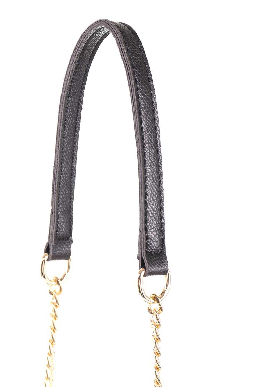 meliebiancoのElsa(Black)2WAYショルダーバッグ/海外ファッション好きにオススメのインポートバッグとかばん、MelieBianco(メリービアンコ)のバッグやショルダーバッグ。ストラップを取り外してクラッチバッグにもなる2WAYショルダーバッグ。スマホと流行のミニ財布でお出かけするときにピッタリなショルダーバッグです。/main-8