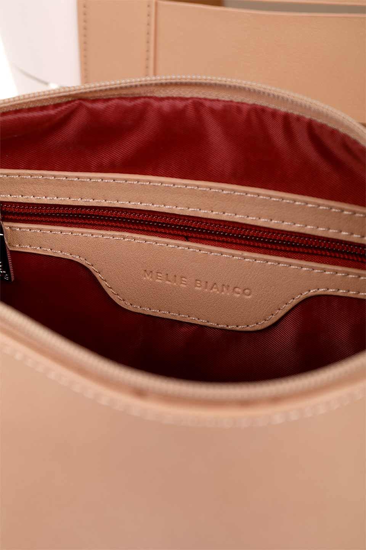 meliebiancoのCamille(Nude)ポーチ付き・バイカラートートバッグ/海外ファッション好きにオススメのインポートバッグとかばん、MelieBianco(メリービアンコ)のバッグやトートバッグ。便利なインナーバッグが付いた涼しげなトートバッグ。ボーダー柄にも見えるシースルーのデザインがとても可愛いバッグです。/main-17