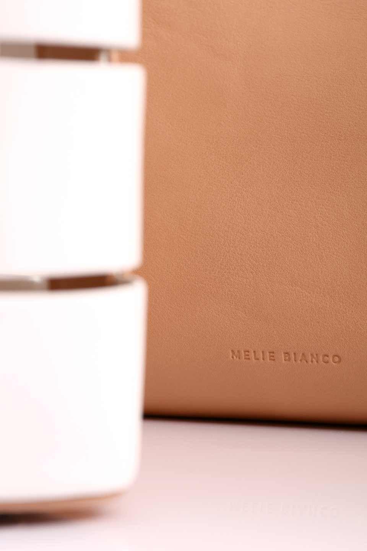 meliebiancoのCamille(Nude)ポーチ付き・バイカラートートバッグ/海外ファッション好きにオススメのインポートバッグとかばん、MelieBianco(メリービアンコ)のバッグやトートバッグ。便利なインナーバッグが付いた涼しげなトートバッグ。ボーダー柄にも見えるシースルーのデザインがとても可愛いバッグです。/main-20
