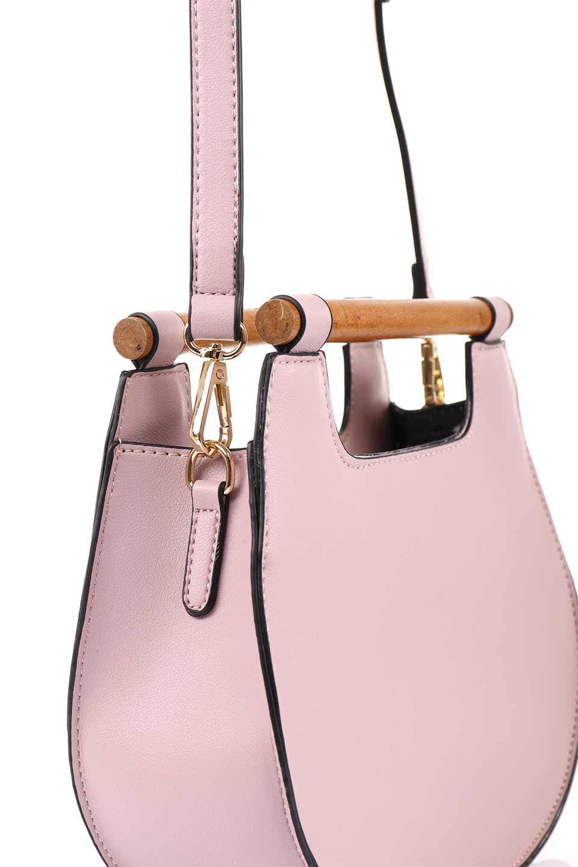 meliebiancoのIrene(Lavender)ウッドハンドル・ラウンドバッグ/海外ファッション好きにオススメのインポートバッグとかばん、MelieBianco(メリービアンコ)のバッグやハンドバッグ。木製の持ち手がシックで可愛いショルダータイプのラウンドバッグ。小ぶりに見えますがマチ幅もあり見た目以上の収納力があります。/main-11