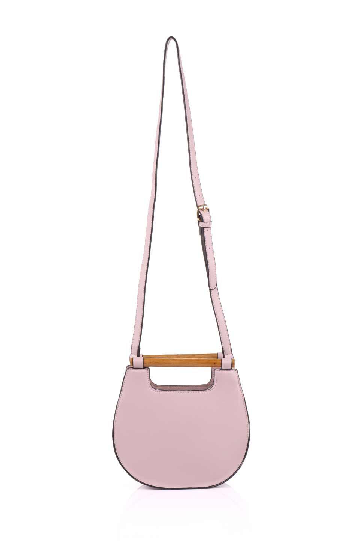 meliebiancoのIrene(Lavender)ウッドハンドル・ラウンドバッグ/海外ファッション好きにオススメのインポートバッグとかばん、MelieBianco(メリービアンコ)のバッグやハンドバッグ。木製の持ち手がシックで可愛いショルダータイプのラウンドバッグ。小ぶりに見えますがマチ幅もあり見た目以上の収納力があります。/main-9