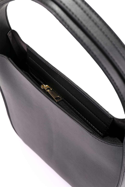 meliebiancoのEmery(Black)スクエアシルエット・ハンドバッグ/海外ファッション好きにオススメのインポートバッグとかばん、MelieBianco(メリービアンコ)のバッグやハンドバッグ。スッキリデザインのシンプルハンドバッグ。iPadなら縦でも横でもOK。/main-11