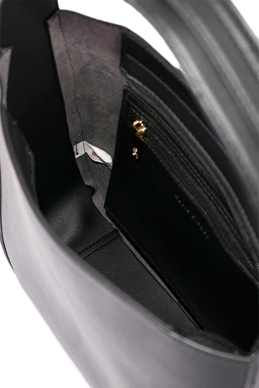 meliebiancoのEmery(Black)スクエアシルエット・ハンドバッグ/海外ファッション好きにオススメのインポートバッグとかばん、MelieBianco(メリービアンコ)のバッグやハンドバッグ。スッキリデザインのシンプルハンドバッグ。iPadなら縦でも横でもOK。/main-14