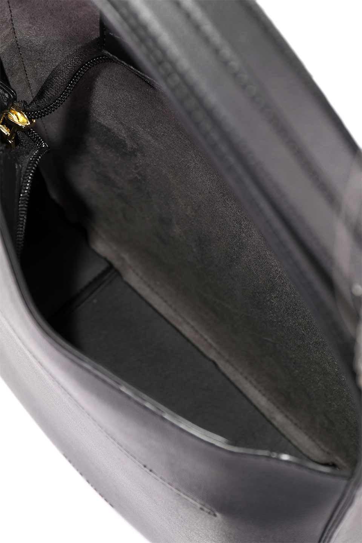 meliebiancoのEmery(Black)スクエアシルエット・ハンドバッグ/海外ファッション好きにオススメのインポートバッグとかばん、MelieBianco(メリービアンコ)のバッグやハンドバッグ。スッキリデザインのシンプルハンドバッグ。iPadなら縦でも横でもOK。/main-15