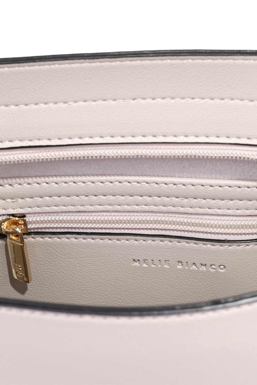 meliebiancoのEmery(Bone)スクエアシルエット・ハンドバッグ/海外ファッション好きにオススメのインポートバッグとかばん、MelieBianco(メリービアンコ)のバッグやハンドバッグ。スッキリデザインのシンプルハンドバッグ。iPadなら縦でも横でもOK。/main-11