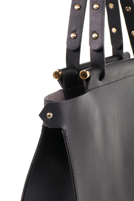 meliebiancoのIsabella(Black)ストラップ付・2WAYハンドバッグ/海外ファッション好きにオススメのインポートバッグとかばん、MelieBianco(メリービアンコ)のバッグやハンドバッグ。お仕事用にも使えそうなシンプルハンドバッグ。大きめのA4ファイルもスッポリの収納力は魅力です。/main-9