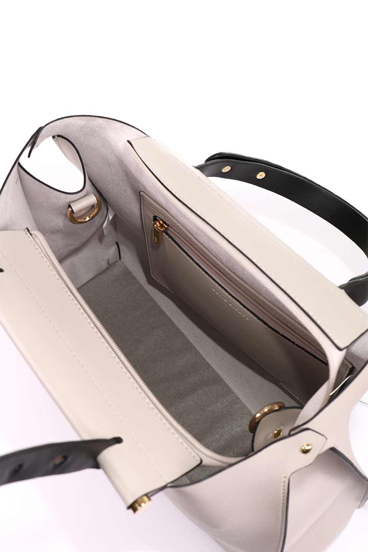 meliebiancoのIsabella(Bone)ストラップ付・2WAYハンドバッグ/海外ファッション好きにオススメのインポートバッグとかばん、MelieBianco(メリービアンコ)のバッグやハンドバッグ。お仕事用にも使えそうなシンプルハンドバッグ。大きめのA4ファイルもスッポリの収納力は魅力です。/main-11