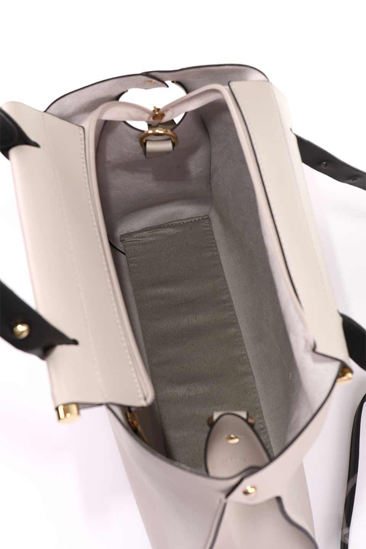 meliebiancoのIsabella(Bone)ストラップ付・2WAYハンドバッグ/海外ファッション好きにオススメのインポートバッグとかばん、MelieBianco(メリービアンコ)のバッグやハンドバッグ。お仕事用にも使えそうなシンプルハンドバッグ。大きめのA4ファイルもスッポリの収納力は魅力です。/main-12