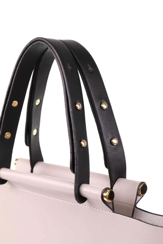meliebiancoのIsabella(Bone)ストラップ付・2WAYハンドバッグ/海外ファッション好きにオススメのインポートバッグとかばん、MelieBianco(メリービアンコ)のバッグやハンドバッグ。お仕事用にも使えそうなシンプルハンドバッグ。大きめのA4ファイルもスッポリの収納力は魅力です。/main-6