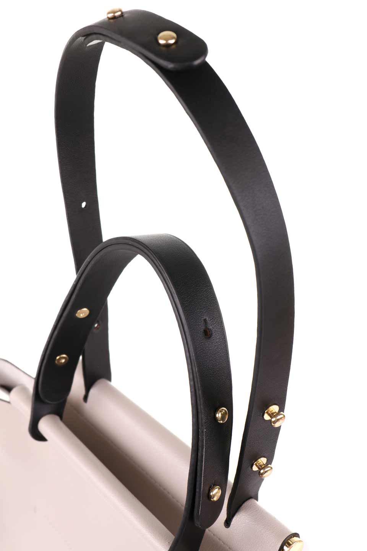 meliebiancoのIsabella(Bone)ストラップ付・2WAYハンドバッグ/海外ファッション好きにオススメのインポートバッグとかばん、MelieBianco(メリービアンコ)のバッグやハンドバッグ。お仕事用にも使えそうなシンプルハンドバッグ。大きめのA4ファイルもスッポリの収納力は魅力です。/main-7