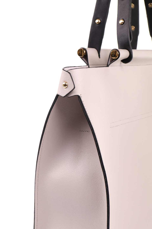meliebiancoのIsabella(Bone)ストラップ付・2WAYハンドバッグ/海外ファッション好きにオススメのインポートバッグとかばん、MelieBianco(メリービアンコ)のバッグやハンドバッグ。お仕事用にも使えそうなシンプルハンドバッグ。大きめのA4ファイルもスッポリの収納力は魅力です。/main-8
