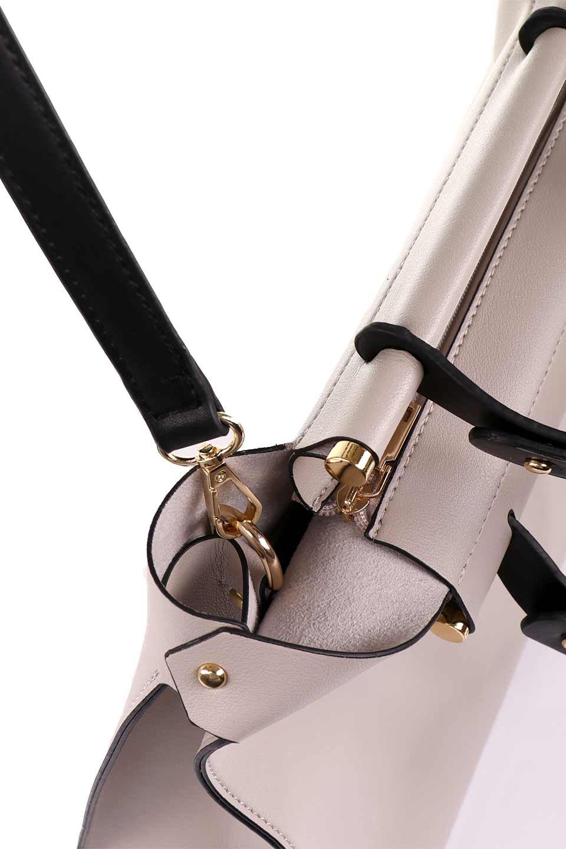 meliebiancoのIsabella(Bone)ストラップ付・2WAYハンドバッグ/海外ファッション好きにオススメのインポートバッグとかばん、MelieBianco(メリービアンコ)のバッグやハンドバッグ。お仕事用にも使えそうなシンプルハンドバッグ。大きめのA4ファイルもスッポリの収納力は魅力です。/main-9