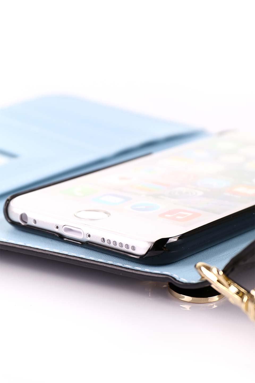 STARRYのFunctionalCase(Black)//foriPhone8,7,6s,6/iPhoneケースのレディースブランド、STARRY(スターリー)のテックアクセサリーや。STARRYの中でも人気のシルエットをアップデートしたスマホケース。内側と外側の色のコンビネーションが可愛いデザインです。/main-17