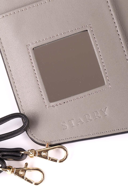 STARRYのSimple+(Black)//foriPhoneX,8,7,6s,6/iPhoneケースのレディースブランド、STARRY(スターリー)のテックアクセサリーや。モダンなデザインで大人っぽさを感じるiPhoneケース。ブラックは艶やかなエコレザーを、カーキはシックなベロア調の素材を使用しています。/main-13