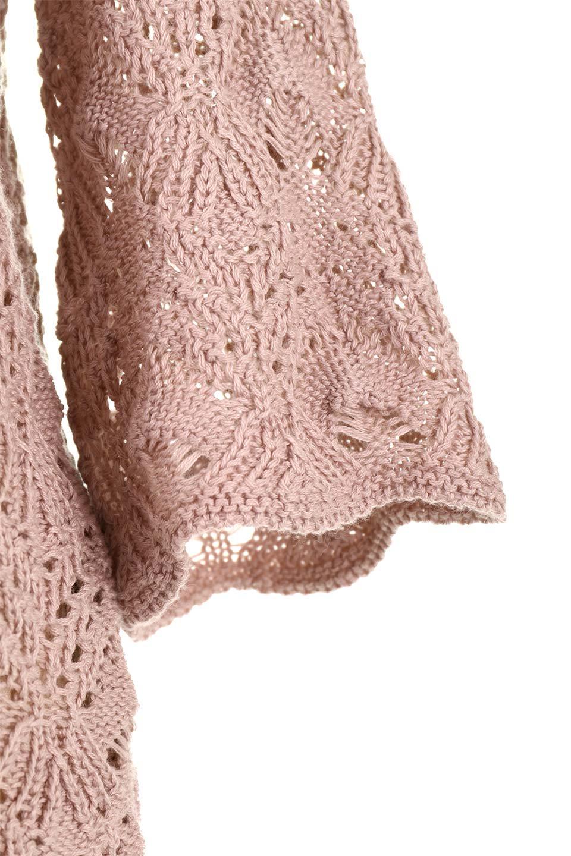 CrochetKnitHalfSleevetopカギ編みニットトップス大人カジュアルに最適な海外ファッションのothers(その他インポートアイテム)のトップスやニット・セーター。春に着たいカギ編みニットのトップス。ゆるく編み込んだニットの透け感が涼しげで初夏まで着まわせそうなニットソー。/main-24