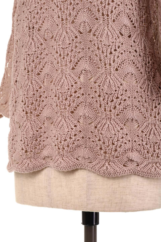 CrochetKnitHalfSleevetopカギ編みニットトップス大人カジュアルに最適な海外ファッションのothers(その他インポートアイテム)のトップスやニット・セーター。春に着たいカギ編みニットのトップス。ゆるく編み込んだニットの透け感が涼しげで初夏まで着まわせそうなニットソー。/main-25