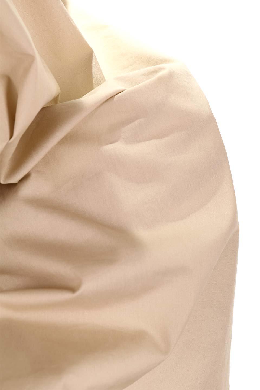 FlaredSleeveShirtDressフレアスリーブ・シャツワンピース大人カジュアルに最適な海外ファッションのothers(その他インポートアイテム)のワンピースやミディワンピース。ノーカラーブラウスをワンピにしたようなシャツブラウス。パリッとしてしっかりした生地で巣県はありません。/main-27
