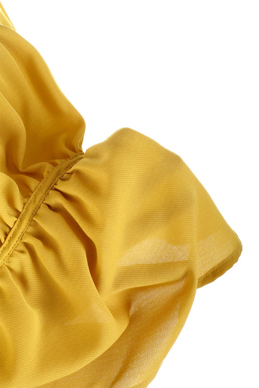 V-KneckGatheredBlouseVネック・ギャザーブラウス大人カジュアルに最適な海外ファッションのothers(その他インポートアイテム)のトップスやシャツ・ブラウス。キャンディースリーブのギャザーブラウス。ソフトなジョーゼット生地を2枚重ねた着心地の良いブラウスです。/main-26