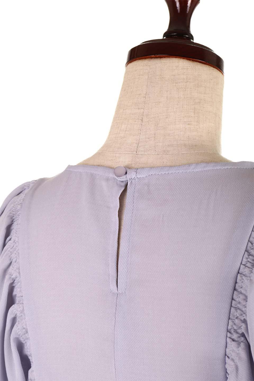 CandySleeveGatheredBlouseキャンディースリーブ・ギャザーブラウス大人カジュアルに最適な海外ファッションのothers(その他インポートアイテム)のトップスやシャツ・ブラウス。ギャザーでドレープ感を強調させたキャンディースリーブの7分袖ブラウス。ソフトなジョーゼット生地を2枚重ねた着心地の良いブラウスです。/main-22