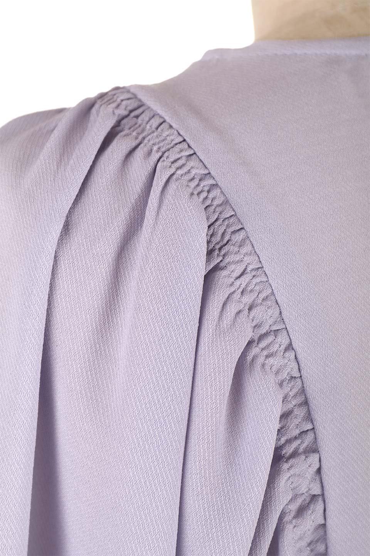 CandySleeveGatheredBlouseキャンディースリーブ・ギャザーブラウス大人カジュアルに最適な海外ファッションのothers(その他インポートアイテム)のトップスやシャツ・ブラウス。ギャザーでドレープ感を強調させたキャンディースリーブの7分袖ブラウス。ソフトなジョーゼット生地を2枚重ねた着心地の良いブラウスです。/main-23