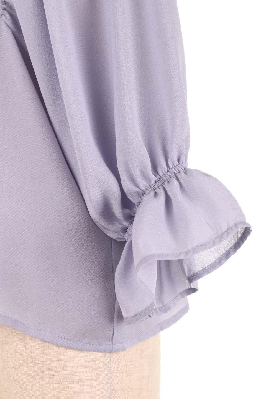 CandySleeveGatheredBlouseキャンディースリーブ・ギャザーブラウス大人カジュアルに最適な海外ファッションのothers(その他インポートアイテム)のトップスやシャツ・ブラウス。ギャザーでドレープ感を強調させたキャンディースリーブの7分袖ブラウス。ソフトなジョーゼット生地を2枚重ねた着心地の良いブラウスです。/main-25