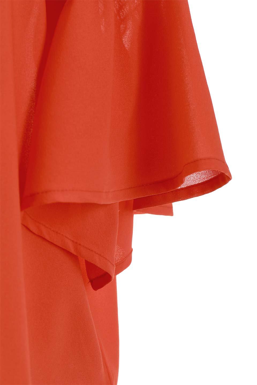 FlaredSleeveBlouseフレアスリーブ・シャーリングブラウス大人カジュアルに最適な海外ファッションのothers(その他インポートアイテム)のトップスやシャツ・ブラウス。ひらひらのフレアスリーブと透け感のある生地の春夏ブラウス。広がった袖口と絞りすぎないシャーリングがポイントのブラウスです。/main-24