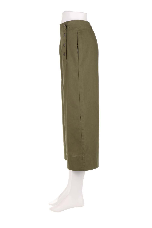 WideLegSailorPantsワイドレッグ・セイラーパンツ大人カジュアルに最適な海外ファッションのothers(その他インポートアイテム)のボトムやパンツ。フロントのボタンが可愛いセイラーパンツ。毎年人気のマリン系のコーデで大活躍間違いなしの人気アイテム。/main-12