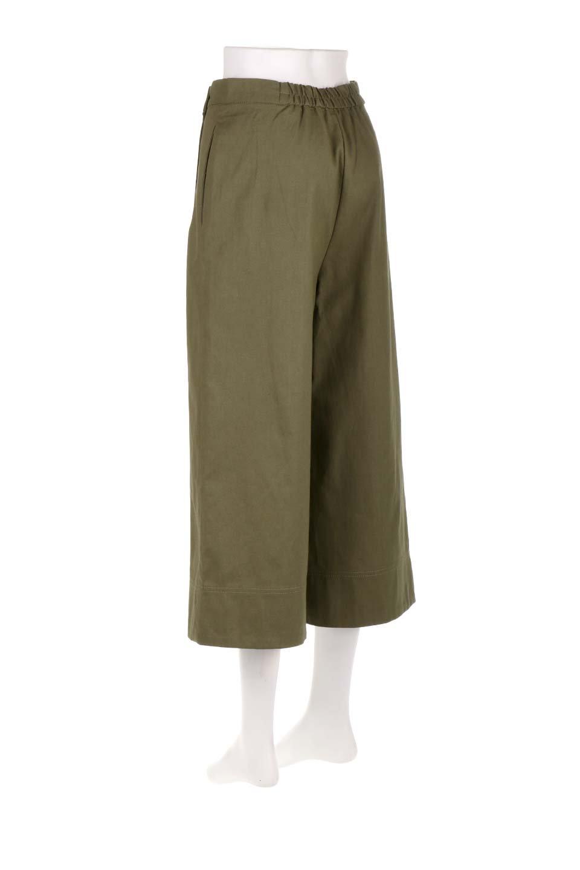 WideLegSailorPantsワイドレッグ・セイラーパンツ大人カジュアルに最適な海外ファッションのothers(その他インポートアイテム)のボトムやパンツ。フロントのボタンが可愛いセイラーパンツ。毎年人気のマリン系のコーデで大活躍間違いなしの人気アイテム。/main-13