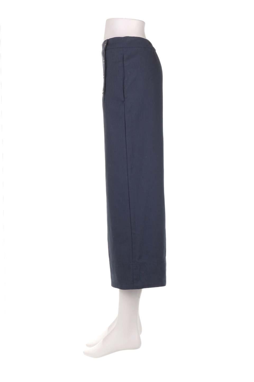 WideLegSailorPantsワイドレッグ・セイラーパンツ大人カジュアルに最適な海外ファッションのothers(その他インポートアイテム)のボトムやパンツ。フロントのボタンが可愛いセイラーパンツ。毎年人気のマリン系のコーデで大活躍間違いなしの人気アイテム。/main-17