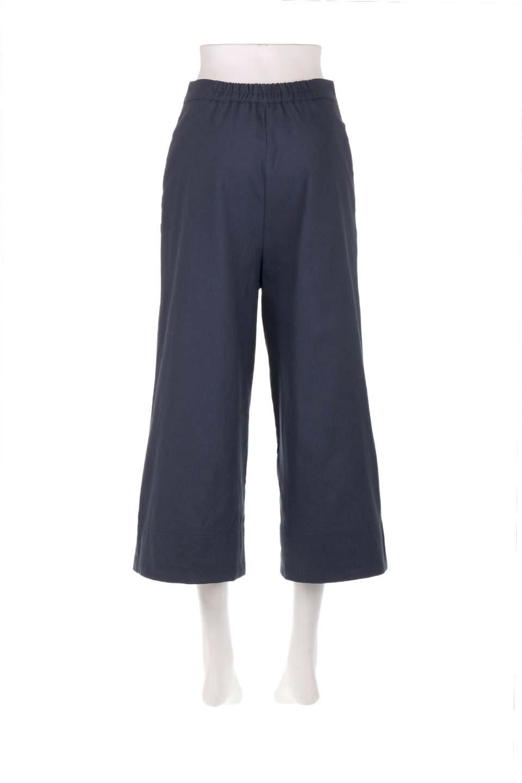 WideLegSailorPantsワイドレッグ・セイラーパンツ大人カジュアルに最適な海外ファッションのothers(その他インポートアイテム)のボトムやパンツ。フロントのボタンが可愛いセイラーパンツ。毎年人気のマリン系のコーデで大活躍間違いなしの人気アイテム。/main-19
