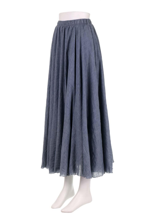 HighWaistLinenmaxiSkirtハイウエスト・リネンマキシスカートのボトムやスカート。薄手で軽やかなスカート。コーディネートのしやすさ抜群のオールマイティーなスカート。/main-16